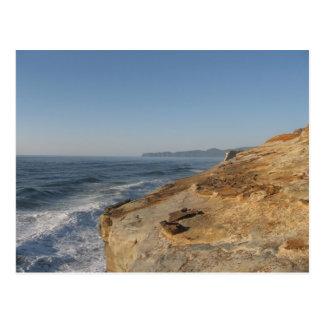 Stilla hav på den Oregon kusten Vykort
