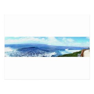 Stilla hav på La Jolla Vykort