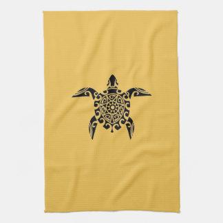 Stillahavs- handduk för sköldpadda för stil för kökshandduk