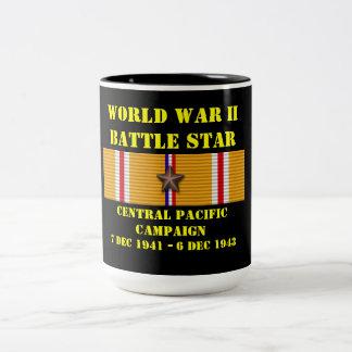 Stillahavs- kampanj för central kaffe mugg