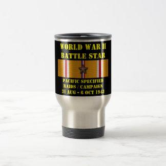 Stillahavs- specificerad razziakampanj kaffe mugg