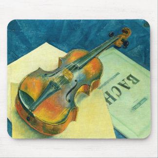 Stilleben med en fiol, 1921 musmatta