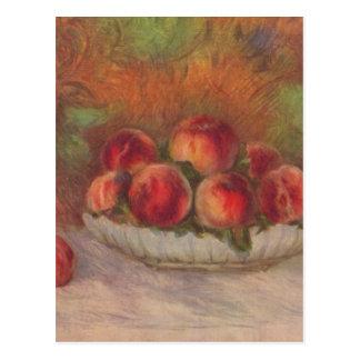 Stilleben med frukter - Pierre-Auguste Renoir Vykort