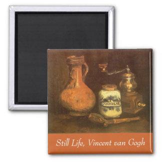 Stilleben med kaffe mal vid Vincent Van Gogh Magnet
