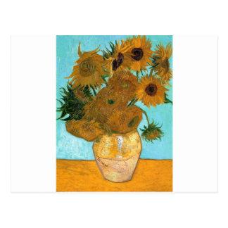 Stilleben: Solrosor - Vincent Van Gogh Vykort