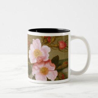 Stilleben som visar blommor Två-Tonad mugg