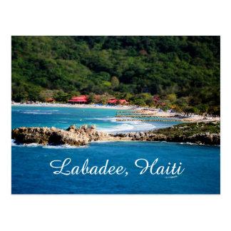 Stillsamt öparadis Labadee Haiti Vykort