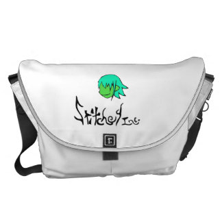 Stitchey Inc. messenger bag