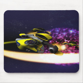 Stjärn- driva Mousepad Musmattor