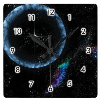 Stjärn- skalv fyrkantig klocka