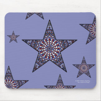 Stjärna av självständighet Mousepad Musmatta