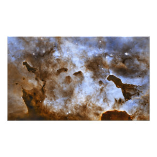 Stjärna-Bilda pelare för Carina Nebula Fototryck