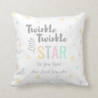 Stjärna för glimtglimt lite - den beställnings- kudde