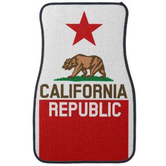 Stjärna för KALIFORNIEN REPUBLIKstatlig flagga Bilmatta