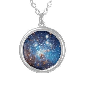 Stjärna för LH som 95 bildar regionen - Hubble Silverpläterat Halsband