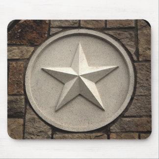 Stjärna för MP Texas av stenen Musmatta