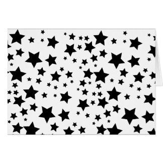 Stjärna Hälsningskort