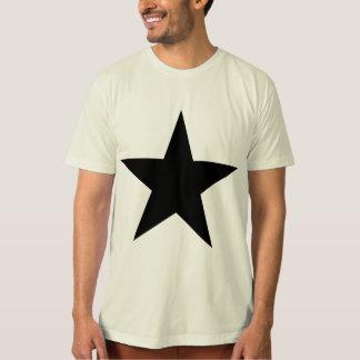 Stjärna/manar toppna mjuka organiska T-tröja Tee Shirt