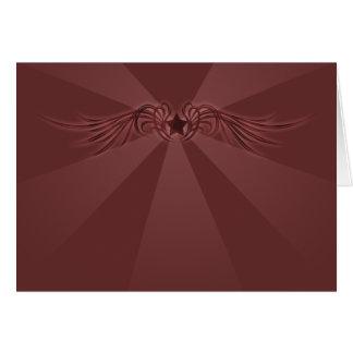 Stjärna med vingar OBS kort