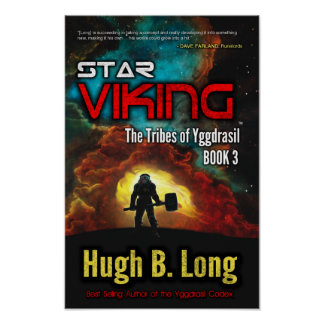 Stjärna Viking - affisch