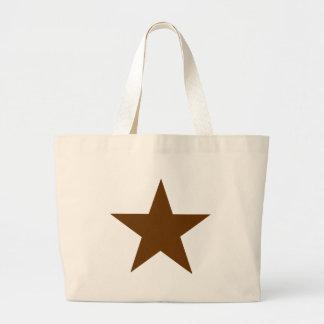 Stjärnabrunt de MUSEUMZazzle gåvorna Tygkassar