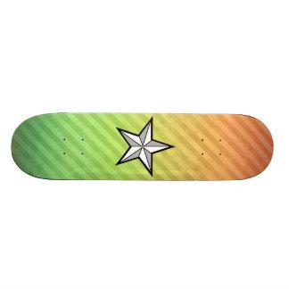 Stjärnadesign Skateboard Bräda 20,5 Cm