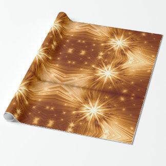Stjärnadesigner som slår in papper presentpapper