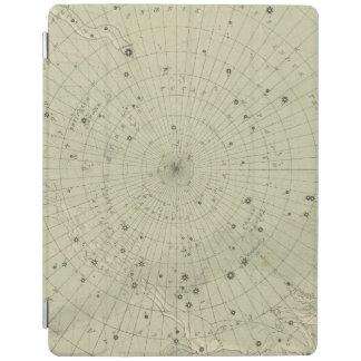 Stjärnakarta av den södra polara regionen iPad skydd