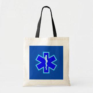 Stjärnan av den paramedicinska nöd- budget tygkasse