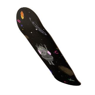Stjärnan bubblar och hickar skateboarden old school skateboard bräda 21,6 cm