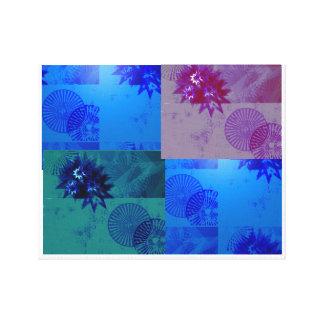 Stjärnan och rullar design canvastryck