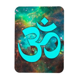 Stjärnan samla i en klunga AquaOm-symbol Flexibel Magnet