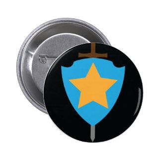 Stjärnan skyddar standard knapp rund 5.7 cm