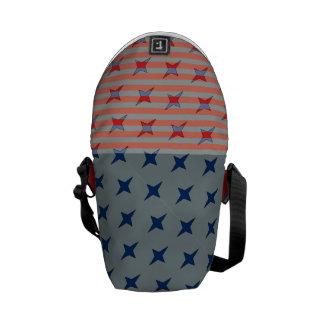 Stjärnan Spangled messenger bag