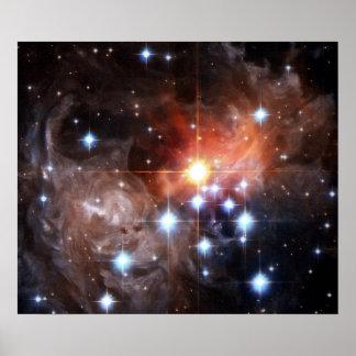 StjärnaNASA för V838 Monocerotis Poster