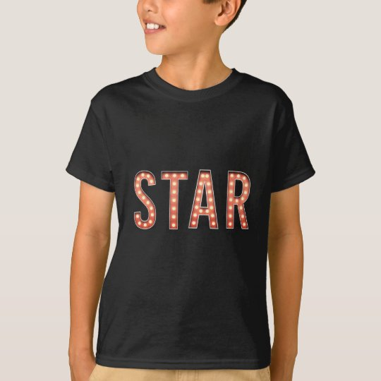 STJÄRNAstort festtältljus T-shirt