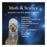 Stjärnor för labb för utrymme för vetenskapsMath g Posters