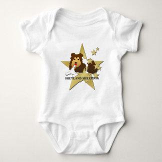 Stjärnor för Shetland Sheepdog Tshirts