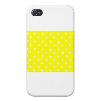Stjärnor gulnar vit de MUSEUMZazzle gåvorna iPhone 4 Fodraler