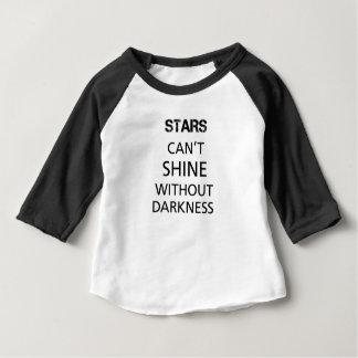 stjärnor kan inte sken t-shirts