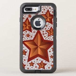 stjärnor OtterBox defender iPhone 7 plus skal