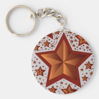 stjärnor rund nyckelring