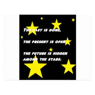 Stjärnor Vykort