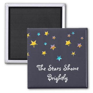 Stjärnorna som ljust skins magnet