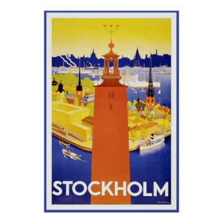 Stockholm Posters