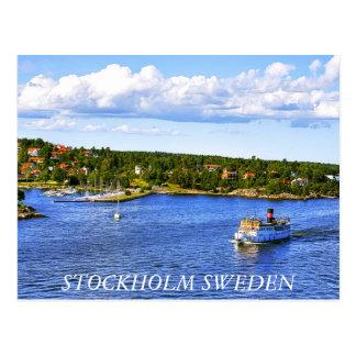 Stockholm fjärdvykort vykort