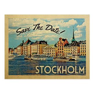 Stockholm spara daterasverigen vykort