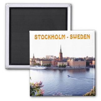 Stockholm - sverige (Mojisola en Gbadamosi) Magnet
