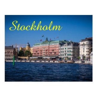 Stockholm sverige vykort
