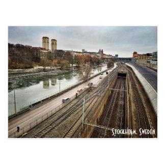 Stockholm sverigevykort vykort